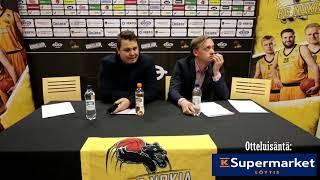 BC Nokia vs Seagulls Lehdistötilaisuus 8 12 2018