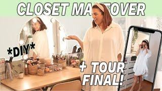 CLOSET MAKEOVER *o melhor diy de sempre* | PARTE 2 | Rita Serrano