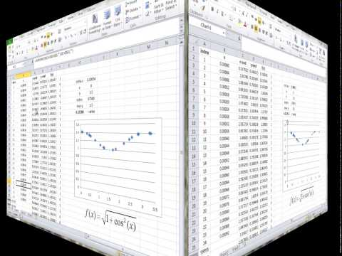 Numerical Analysis 2: Monte Carlo Integration in Excel