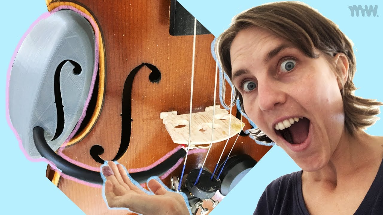 DIY Violin Piezo Pickup // Original Design