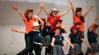 ①Country Line Dance.2016年10月16日平山季重まつり