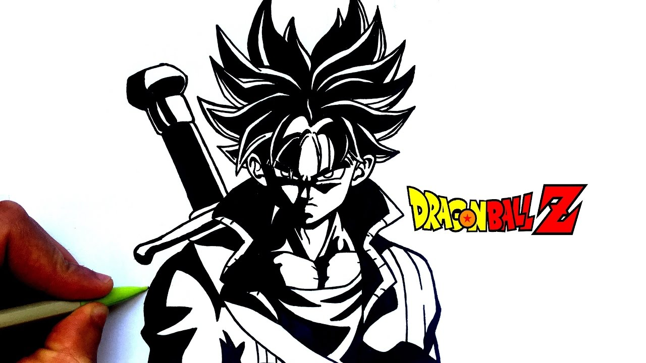 Draw Trunks Black And White