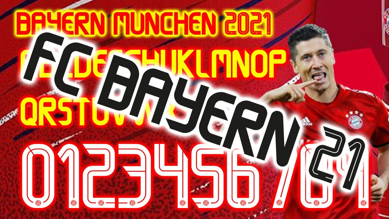 Bayern Munchen 2021 Font Football By Home Design Free Download 100 Youtube