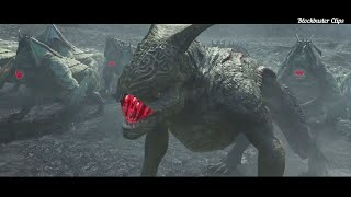 Taotie Monsters Attack - The Great Wall Movie Clips2016 Hd