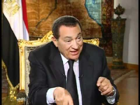 Charlie Rose wth Hosni Mobarak