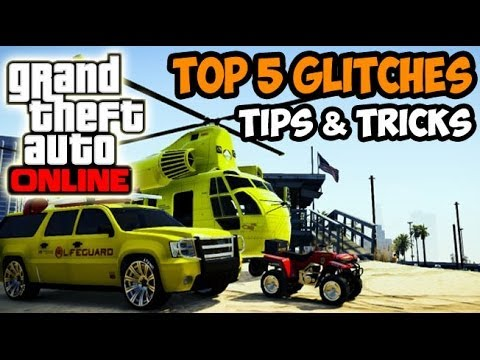 GTA 5 Online - Best 5 Glitches Tips & Tricks Online ...