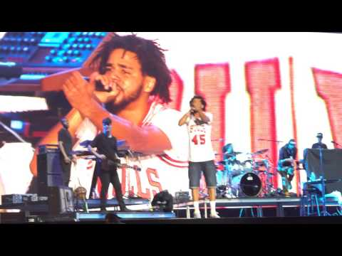 J. Cole: Wet Dreamz Lollapaloooza 2016