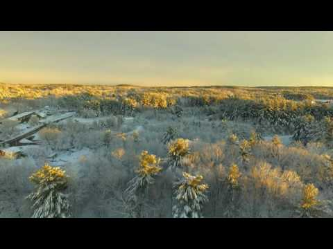 Derry New Hampshire   Drone After The Storm HD