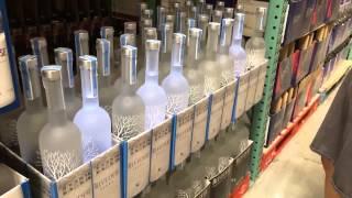 Belvedere Vodka blinking bottles