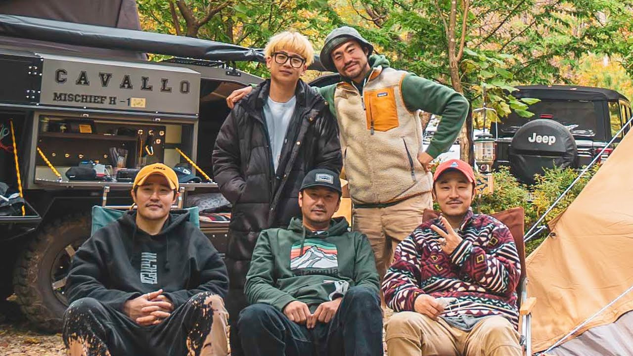 류승수+울랄라세션+캠핑맨의 번개캠핑 (장박일기 ep.03)