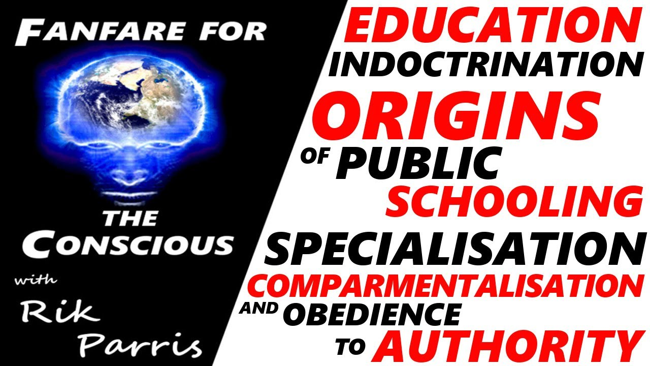 Education & Indoctrination - Origins of Public Schooling: Specialisation and Obedience to Author