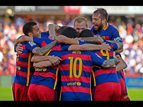 FC Barcelona ● All Goals ● La Liga ● 2015/2016 HD