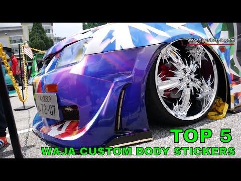 TOP 5 Best Compilation Custom Body Sticker for Proton Waja - Nov