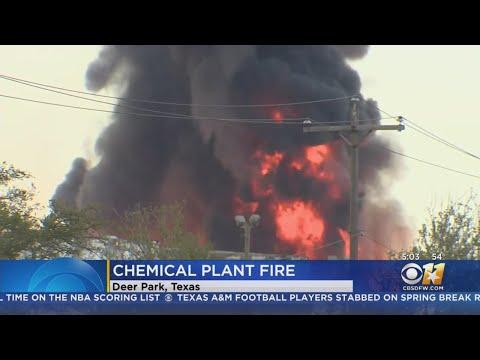 Jeff K - Petrochemical Plant Fire Near Houston Will Burn For Days