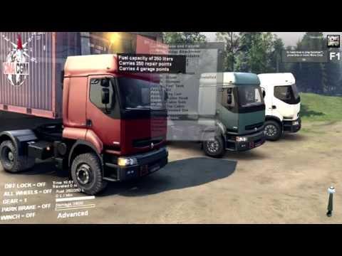 Spin Tires | HUGE Renault Trucks Conversion Pack Mod by Anders Ørum