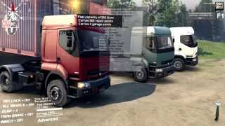 Spin Tires | HUGE Renault Trucks Conversion Pack Mod by Anders Ørum