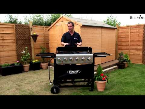 BillyOh Outback Party 6 Burner Barbecue