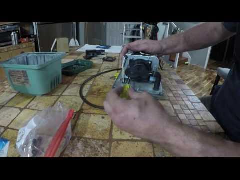Aerobic septic tank repair. HiBlow 80 rebuild part 2