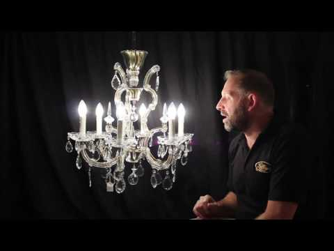 Harriette - Vintage French Glass Clad Chandelier from YouTube · Duration:  54 seconds
