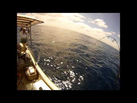 Kiribati Island fishing trip 2012