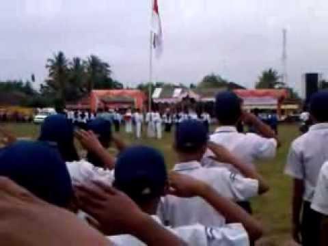 Upacara Bendera 17 agustus 2013 'Unit6 Tulang Bawang Barat