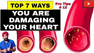 Pro Tips #12: Top 7 ways to keep your HEART HEALTHY | Dr.Education (Hindi)