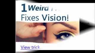 Restore My Vision Today reviews - Perfect Your Vision to 20/20 In 2 Weeks