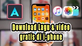 cara download lagu dan video GRATIS di semua iPhone 5/6/7/8/10   ALOHA App
