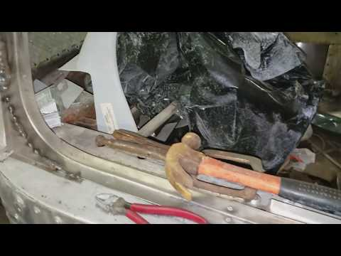 Bus Conversion Project - Video 92 - Driver And Passenger Window Installation