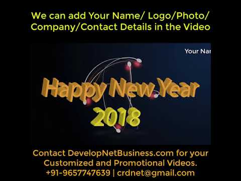 Template of greeting video happy new year 2018 youtube template of greeting video happy new year 2018 m4hsunfo