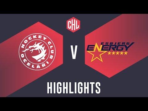 Highlights: Oceláři Třinec vs. Esbjerg Energy