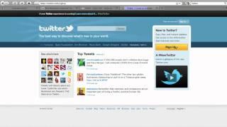 Hızlı öğretici oluşturun twitter hesabı - Websites4You.com.au