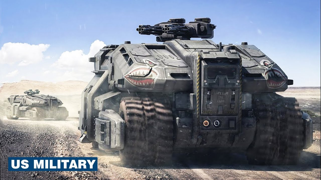 Four Unstoppable US Military Armored Vehicles