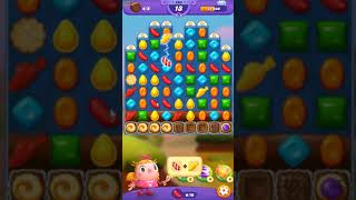 Candy Crush FRIENDS Saga level 203 no boosters