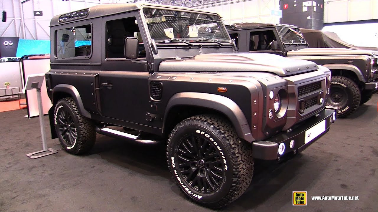 2014 Land Rover Defender Kahn 90 Wide Track by Chelsea Truck