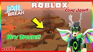 🔴🌋 (Road to 5K!) Roblox jailbreak volcano erupting at 2 billion visits and more! Come join! 🌋🔴