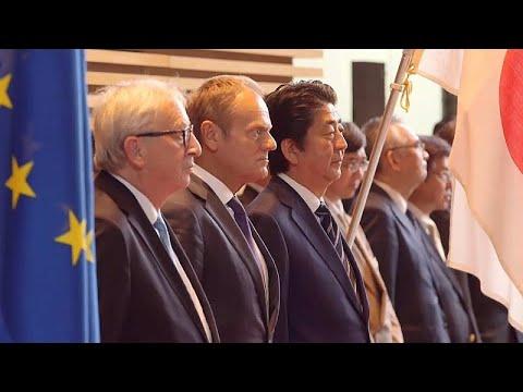 A Euronews em Tóquio para o acordo de livre comércio Japão- UE