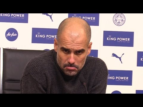 Leicester 4-2 Manchester City - Pep Guardiola Full Post Match Press Conference