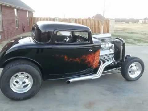 1932 Ford Coupe 3 Window Coupe For Sale 540 Chevrolet Motor With 671