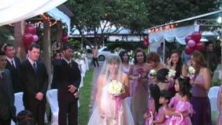 Eric's romantic bridal walk song