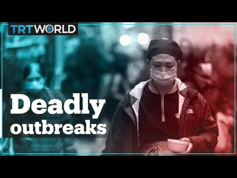 How does the Wuhan coronavirus compare to SARS, ebola, bird flu and swine flu outbreaks?