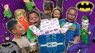 DC KIDS SECRET BOX CHALLENGE: BATMAN DAY! | Episode 3 | DC KIDS