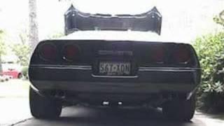 1990 Corvette C4 exhaust