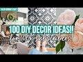 100 DIY DECOR IDEAS for 100K SUBSCRIBERS!
