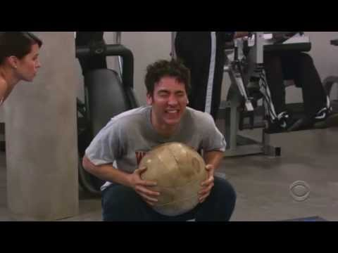HIMYM - Ted with Personal Trainer
