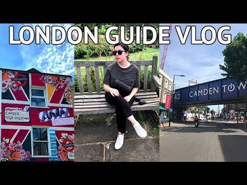 LONDON SHOPPING VLOG AT CAMDEN MARKET | London Guide (& wher