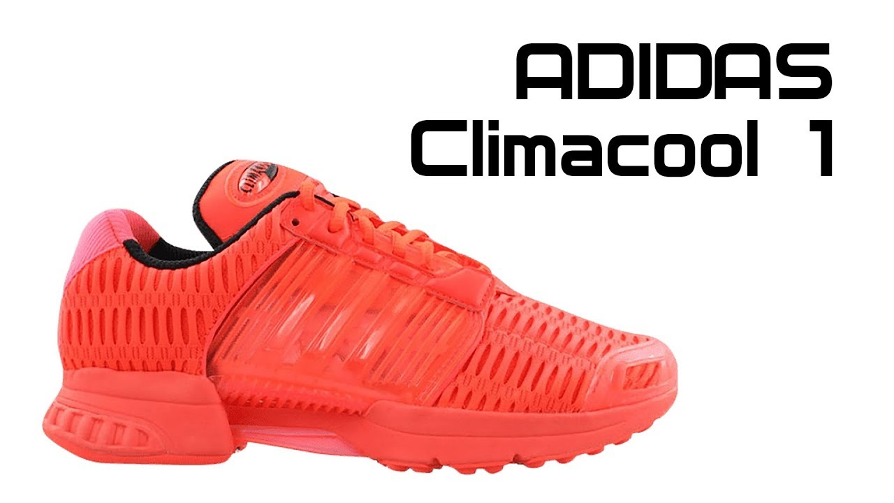 on sale fe8c6 7a08a Обзор кроссовок Adidas Climaсool 1 Solar Red