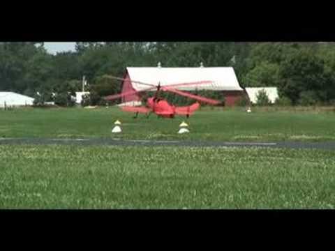 Pitcairn autogiro flies!