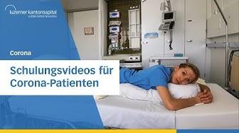 Schulungsvideos für Corona-Patienten