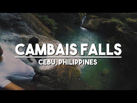 Travel to Cebu: Cambais Waterfalls Philippines Hidden Waterfalls